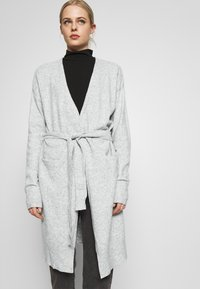 Nly by Nelly - EASY LONG CARDIGAN  - Cardigan - grey mel - 3