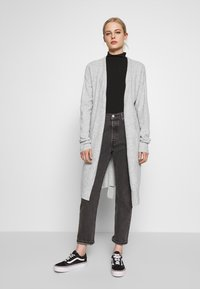 Nly by Nelly - EASY LONG CARDIGAN  - Cardigan - grey mel - 1