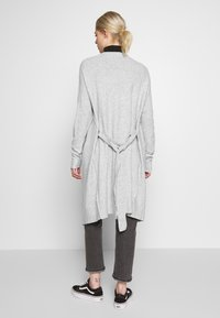 Nly by Nelly - EASY LONG CARDIGAN  - Cardigan - grey mel - 2