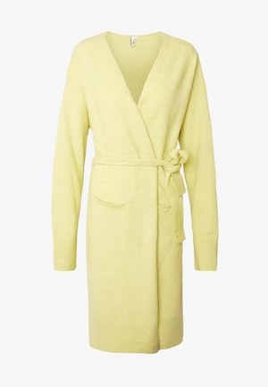 EASY LONG CARDIGAN  - Chaqueta de punto -  yellow