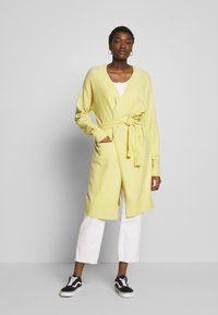 Nly by Nelly - EASY LONG CARDIGAN  - Cardigan -  yellow - 1