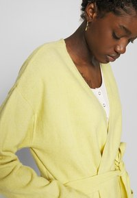 Nly by Nelly - EASY LONG CARDIGAN  - Cardigan -  yellow - 3
