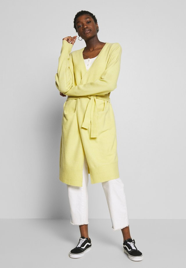 EASY LONG CARDIGAN  - Kardigan -  yellow