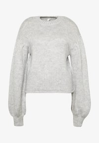 Nly by Nelly - COZY PUFFY SLEEVE - Jumper - grey - 5