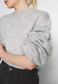 Nly by Nelly - COZY PUFFY SLEEVE - Jumper - grey - 6