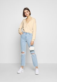 Nly by Nelly - CROPPED - Cardigan - beige - 1