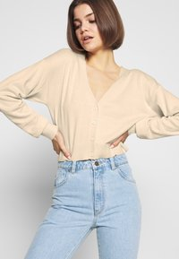 Nly by Nelly - CROPPED - Cardigan - beige - 3