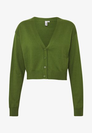 CROPPED - Cardigan - green