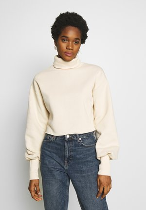 HIGH POLO - Sweater - beige