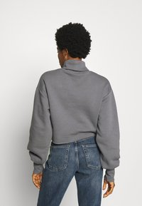 Nly by Nelly - HIGH POLO - Sweatshirt - grey - 2