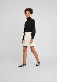 Nly by Nelly - HIGH POLO - Sweater - black - 1