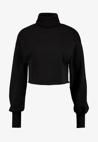 Nly by Nelly - HIGH POLO - Sweater - black - 3