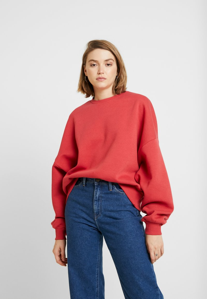 Nly by Nelly - PERFECT CHUNKY - Sudadera - red