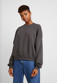 Nly by Nelly - PERFECT CHUNKY - Sweatshirt - offblack - 0