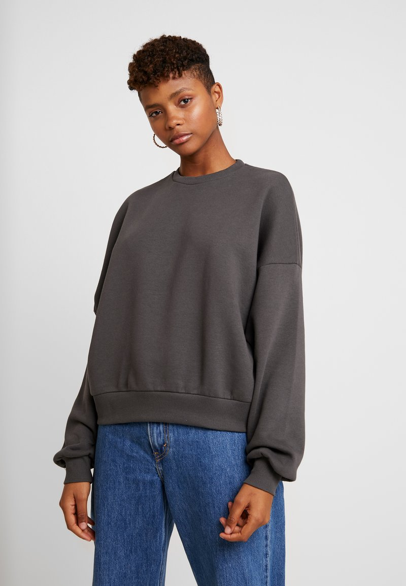Nly by Nelly - PERFECT CHUNKY - Sweatshirt - offblack