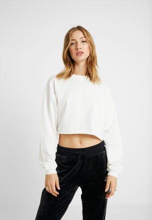 ON TOP - Sweatshirt - white