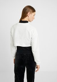 Nly by Nelly - CUT OFF - Sweater - white - 2