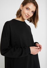 Nly by Nelly - OVERSIZE SLIT - Bluza - black - 4