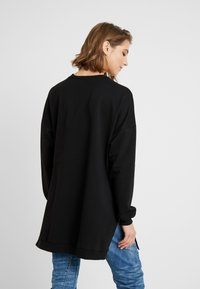 Nly by Nelly - OVERSIZE SLIT - Bluza - black - 2