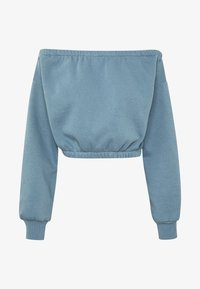 Nly by Nelly - OFF SHOULDER - Sweatshirt - blue - 3