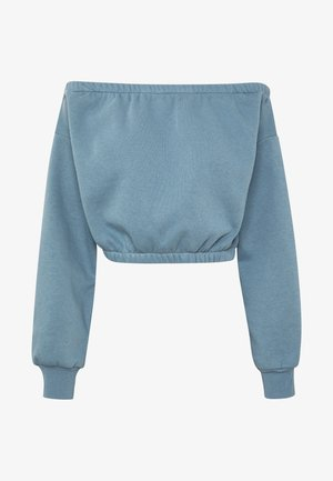 OFF SHOULDER - Sweater - blue