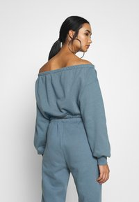 Nly by Nelly - OFF SHOULDER - Sweatshirt - blue - 2