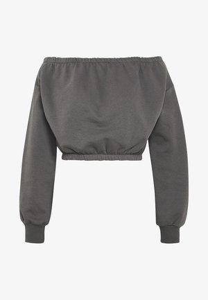 OFF SHOULDER - Sweatshirt - off black