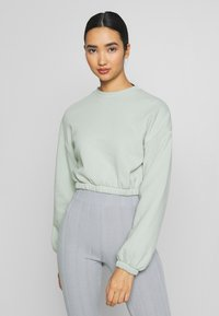 Nly by Nelly - PUFF CROP - Sweatshirt - pistachio - 0