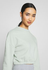 Nly by Nelly - PUFF CROP - Sweatshirt - pistachio - 3