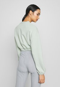 Nly by Nelly - PUFF CROP - Sweatshirt - pistachio - 2