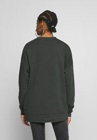 Nly by Nelly - OVERSIZE POCKET - Sweatshirt - offblack - 2