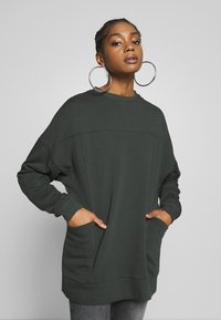 Nly by Nelly - OVERSIZE POCKET - Sweatshirt - offblack - 0