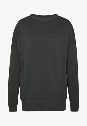 OVERSIZE POCKET - Sweatshirt - offblack