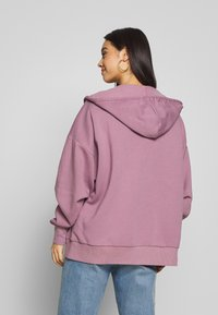 Nly by Nelly - CHUNKY ZIP HOODIE - Felpa aperta - light purple - 2