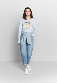 Nly by Nelly - COZY POCKET  - Sweater - blue/gray - 1