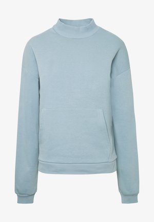 COZY POCKET  - Sweatshirt - blue/gray