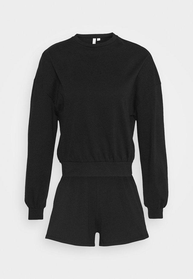 SUMMER FEEL SET - Long sleeved top - black