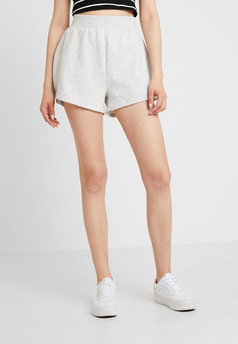 Nly by Nelly - FLIRTY - Shorts - grey mélange