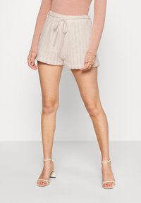 Nly by Nelly - CUTE CROCHET SHORTS - Shorts - beige - 2