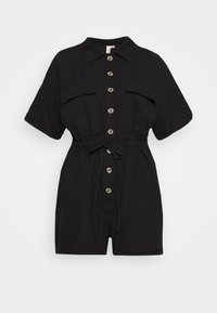 Nly by Nelly - WORKWEAR PLAYSUIT - Overal - black - 0