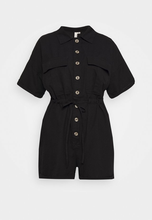 WORKWEAR PLAYSUIT - Overal - black
