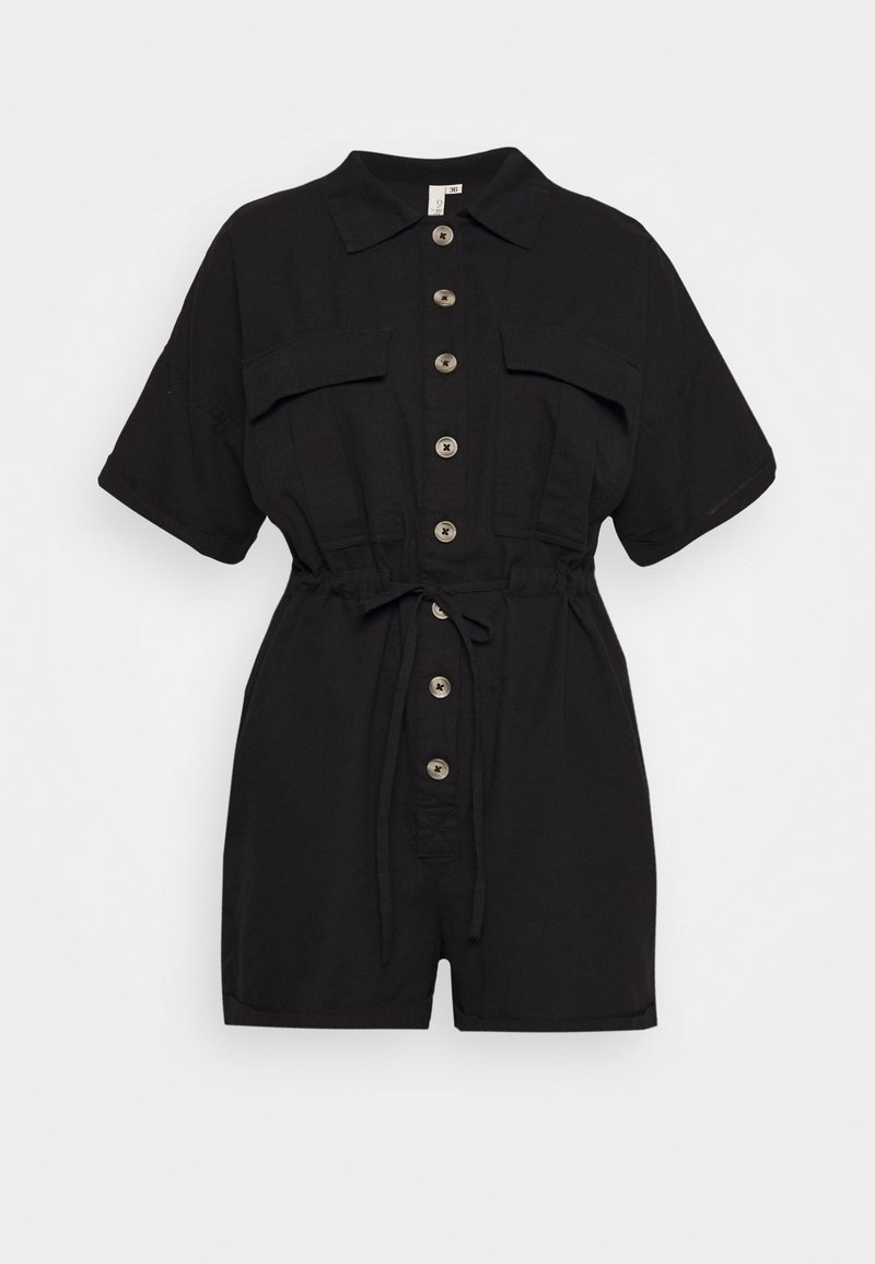 Nly by Nelly - WORKWEAR PLAYSUIT - Overal - black