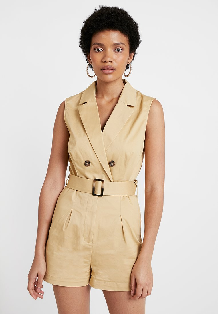 Nly by Nelly - SAFARI PLAYSUIT - Jumpsuit - beige