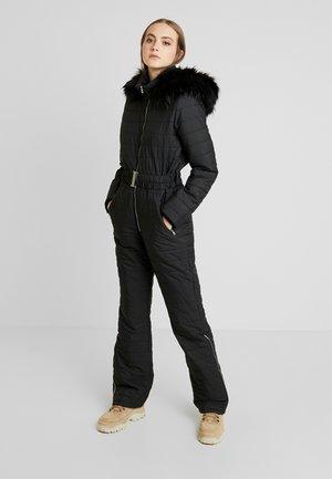 DELUXE SKI OVERALL - Tuta jumpsuit - black