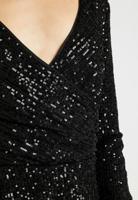 Nly by Nelly - SEQUIN PLAYSUIT - Kombinezon - black - 5