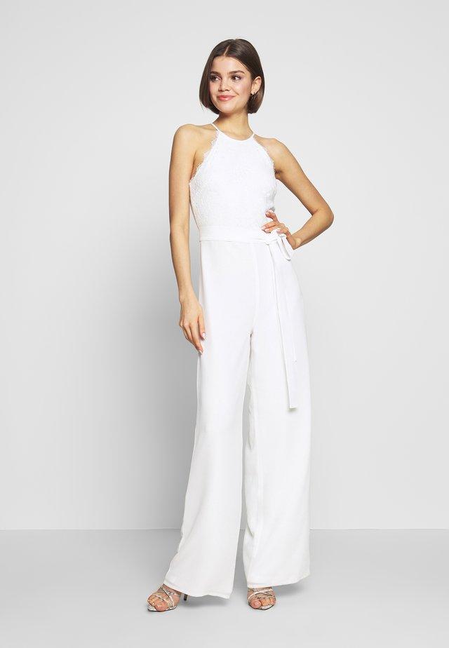 ADORABLE SPORTSCUT - Jumpsuit - white
