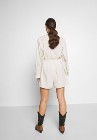 Nly by Nelly - BOHO FRILL PLAYSUIT - Jumpsuit - beige - 2