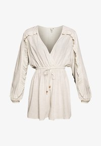 Nly by Nelly - BOHO FRILL PLAYSUIT - Jumpsuit - beige - 3