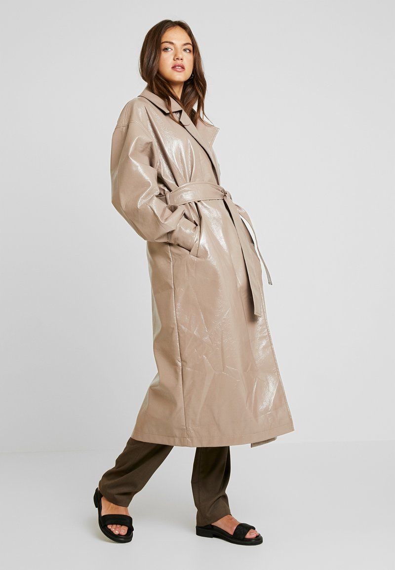 Nly by Nelly - WRAP COAT - Classic coat - beige