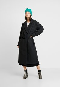 Nly by Nelly - LONG BELTED COAT - Manteau classique - grey - 1